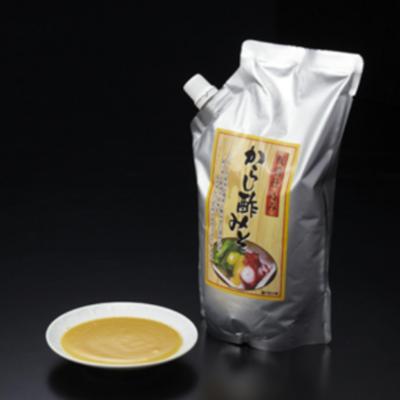 辛子酢みそ板前仕込み[1Kg]/からし酢味噌