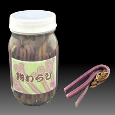 鉤わらび(紫) P壜[70本入]/山菜/かぎわらび