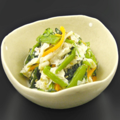 京風ゆば青菜[1Kg]/小鉢