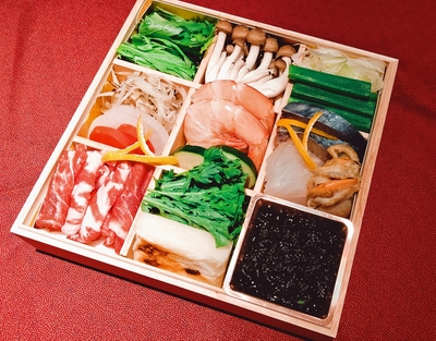 薩摩黒豚と海鮮鍋(1人前)