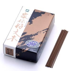 家伝 好文木(短寸線香 14cm 大型バラ入)