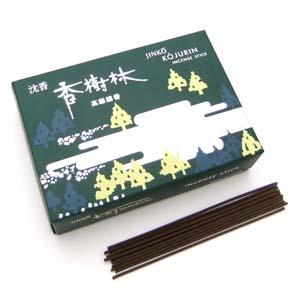 沈香香樹林(短寸線香 13.8cm 大型バラ入)