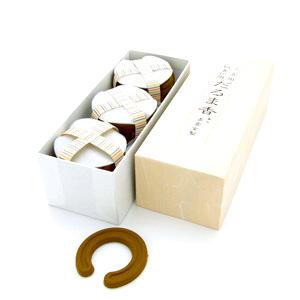 小だるま香 馬蹄型(柄香炉用香炭 30枚入)