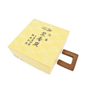 薫香炭 沈香/角型 小(火舎・柄香炉用20枚入)