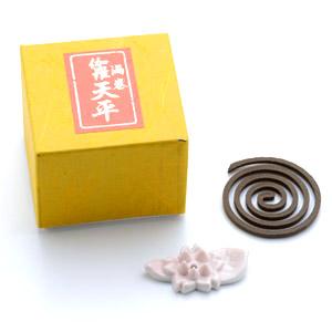 伽羅 天平(渦巻き香 10枚入)