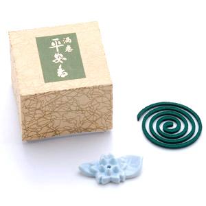 平安香(渦巻き香 10枚入)