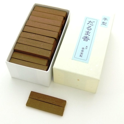 平だるま香 平型(焼香用火種 60本入)