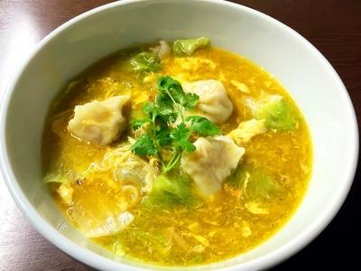 《クール便》上海蟹みその濃厚ワンタン麺