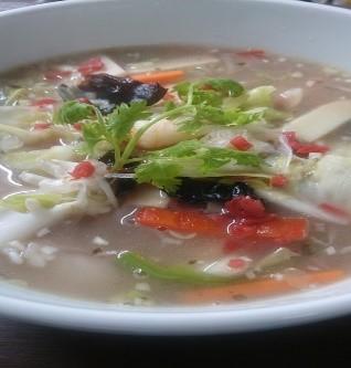 《クール冷蔵便》 野菜たっぷり梅タンメン