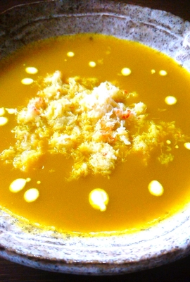 《クール便》ふかひれ入り南瓜のスープ