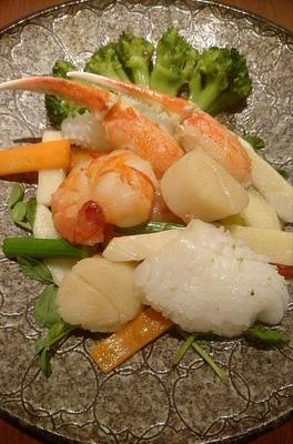 《クール冷蔵便》海鮮の塩味炒め