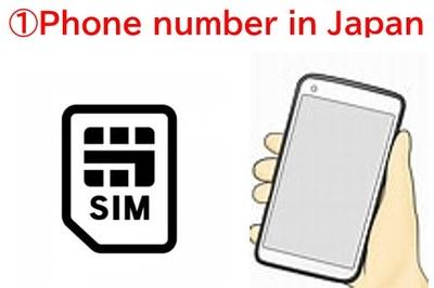 Phone number in Japan