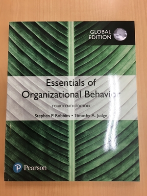 【Essentials of Organizational Behavior】_人材と組織行動のマネジメン/Management of Human Resources and …