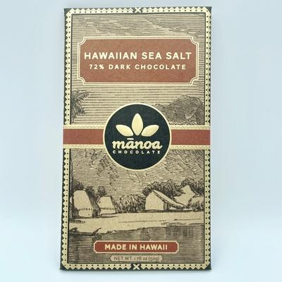 ハワイアンシーソルト72% 50g byマノアチョコレート full size