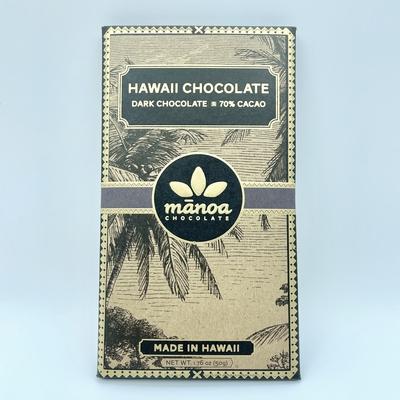 manoaチョコレート 70% 50g