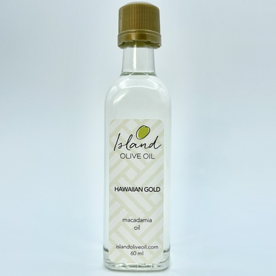 Macadamia Oil ハワイアンゴールド 60ml
