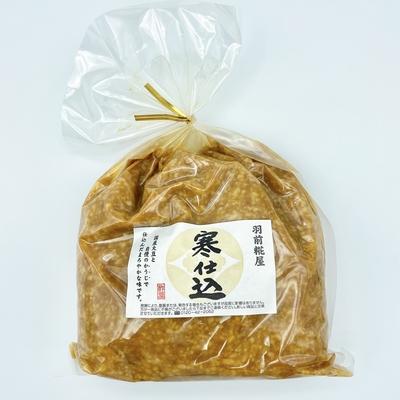 酢屋吉正 寒仕込み米味噌 1kg
