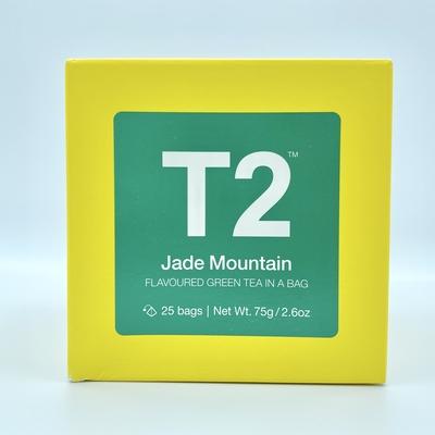 T2 Jade Mountain ティーバッグ(25袋入り)