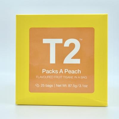 T2 Packs A Peach ティーバッグ(25袋入り)