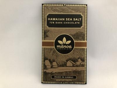 ハワイアンシーソルト72% byマノアチョコレート