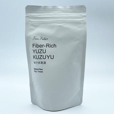 Fiber-Rich YUZU KUZUYU 柚子本葛湯 115g