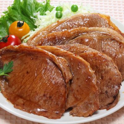 北海道産 豚ロース生姜焼 100g×6