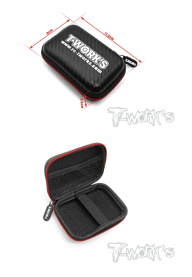 TT-075-D カーボン調コンパクトハードケースS【115x8x35mm】