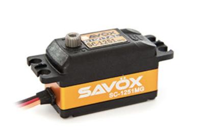 SAVOX 1251MG ハイコストパフォーマンスロープロサーボ