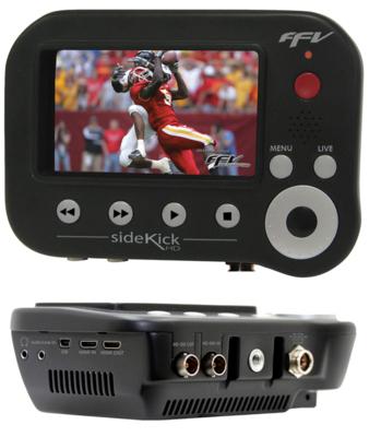 カメラマウンタブル型 ファイルベースレコーダー