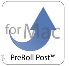 LTFSアーカイブソフトウェア PreRollPost for Mac