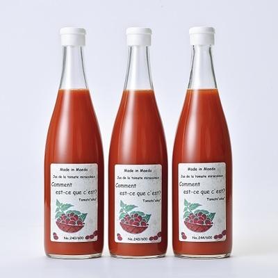 北海道名寄市 前田農園トマトジュース「アイコ」720ml 3本セット