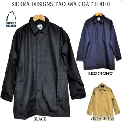 シェラデザイン SIERRA DESIGNS TACOMA COAT II 8101