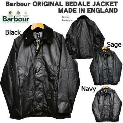 バブアー Barbour ORIGINAL BEDALE JACKET(オリジナル ビデイル オイルドクロス 乗馬用ジャケット)MADE IN ENGLAND