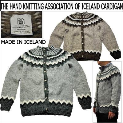 THE HAND KNITTING(ハンドニッティング) ASSOCIATION OF ICELAND CARDIGAN