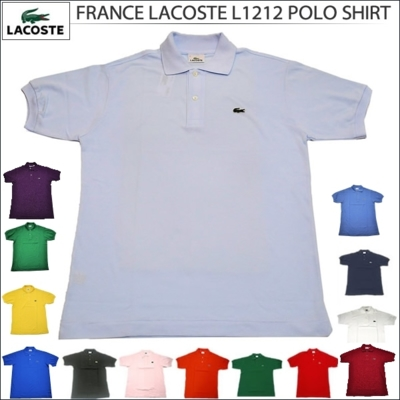 FRANCE LACOSTE[フランス ラコステ]L1212 S/S POLO SHIRT[半袖 ポロ フレラコ フララコ]