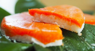 富山県名物 魚卸問屋自慢の鱒寿司
