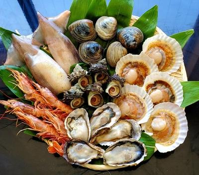 BBQ用 大人用貝類食べ尽くしセット
