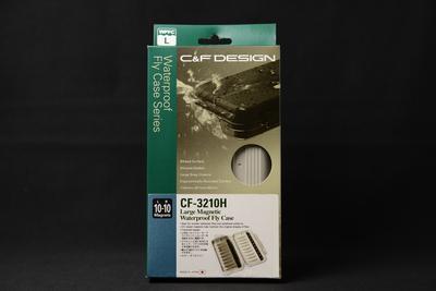 【在庫処分10%OFF】C&F CF-3210H Large Magnetic Waterproof Fly Case ラージ・マグネティック・ウォータープルーフ・フライケース