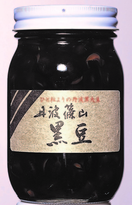丹波黒煮豆 500g