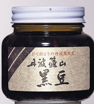 丹波黒煮豆 390g