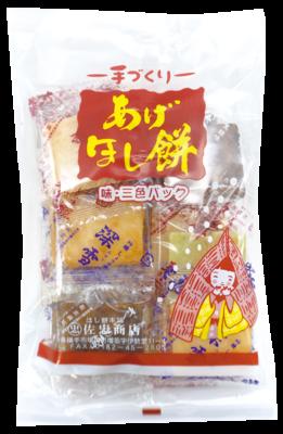 <佐忠商店>あげほし餅 味・三色パック