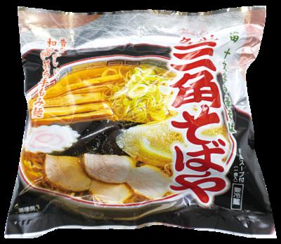 <名代 三角そばや>生中華そば(1食入)