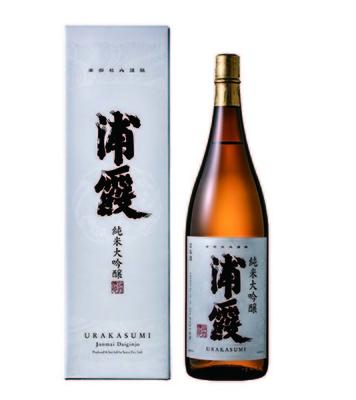 純米大吟醸 浦霞 1.8L