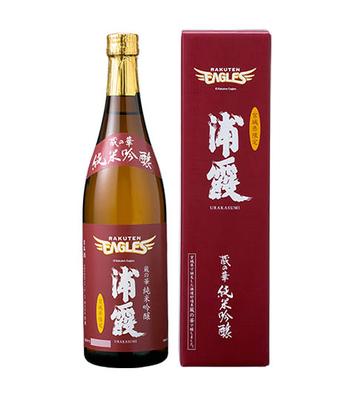 楽天イーグルスボトル 蔵の華 純米吟醸 浦霞 720ml