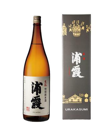 生酛(きもと)特別純米酒 浦霞 1.8L