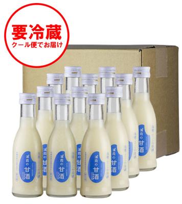 甘さすっきり!浦霞の甘酒セット 190g×12本