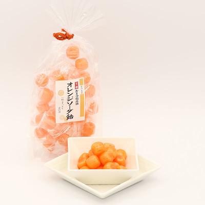 オレンジソーダ飴