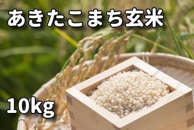 あきたこまち玄米10kg