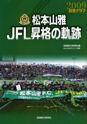 記念グラフ 松本山雅JFL昇格の軌跡