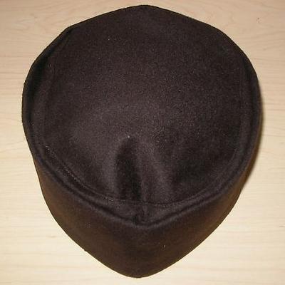 茶人帽 茶色系・鼠色系